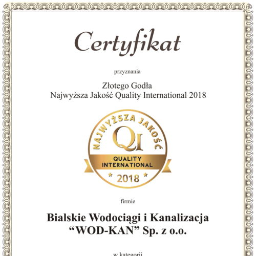 Certyfikat QI BWiK_WOD_KAN-1